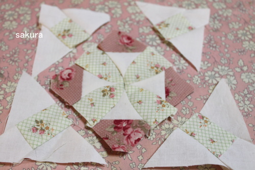 サンプラーパターン無料配布 湖の乙女 縫い方