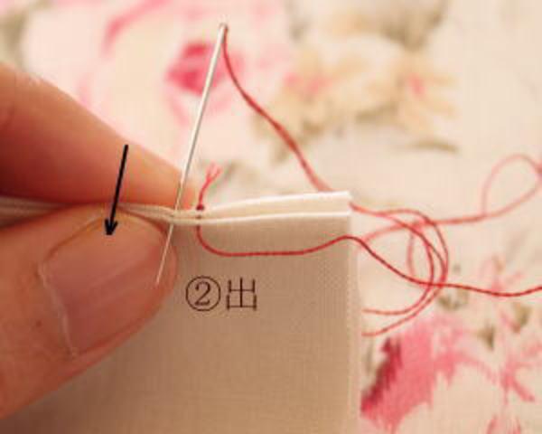 巻きかがり縫い3