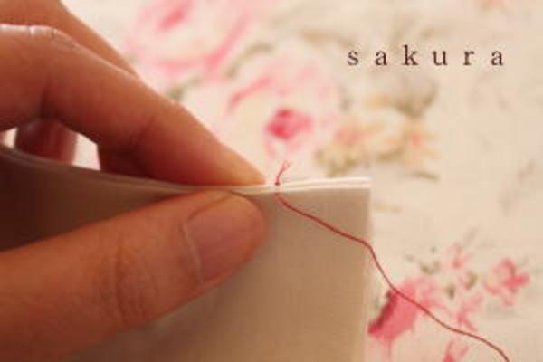 巻きかがり縫い1