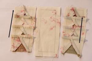 フライングギース縫い方