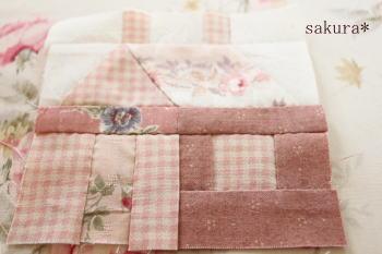ハウスのパターン縫い方1