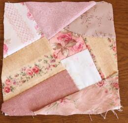 クレイジーキルト縫い繋ぎ方