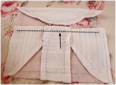 パッチワークパターンリボン縫い方