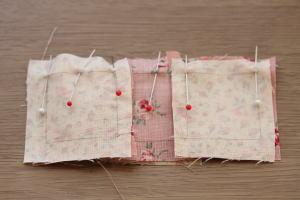 ナインパッチ縫い方