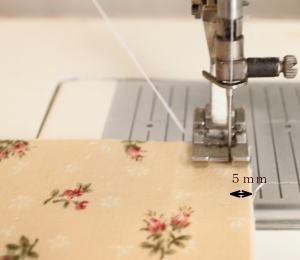 パフキルトミシン縫い