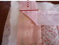 パイピング角縫い方