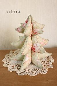 布クリスマスツリー縫い方