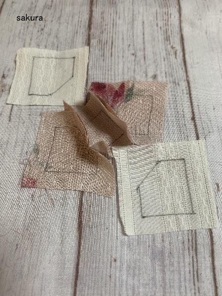 ボウタイパターン縫い方
